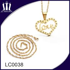 whole gold chain jewelry necklace for pendant