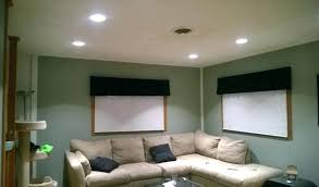 living room what size recessed lights i what