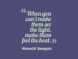 Ronald Reagan Quote On Leadership Awesome Quotes About Life Inspiration Heat Quotes
