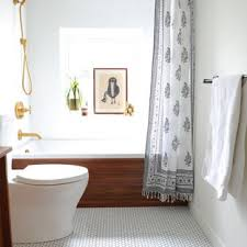 mid century bathroom. Bathroom - Small 1960s Master White Tile And Ceramic Porcelain Floor Mid Century Houzz