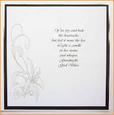 Funeral Words For Cards Funeral Card Message24 Thanksgiving Card Condolences Card 1