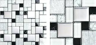 black and white mosaic tile backsplash glass mosaic kitchen wall tiles mosaic black and white glass