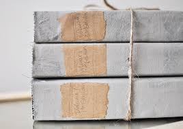create this beautiful restoration hardware book set at a fraction of the cost using thrift