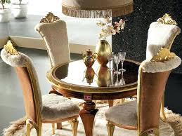 small luxury dining table set dinner party setting