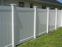 white fence. Privacy Fence Ideas White C