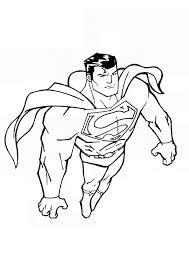 This page contains online games about superman, the most courageous of all men in the world. Free Printable Superman Coloring Pages For Kids