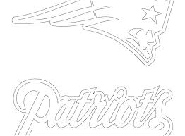 new england patriots helmet coloring pages logos football printable logo new england patriots