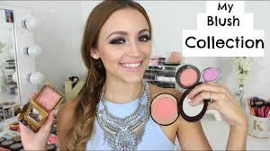 my makeup stash high end blushes