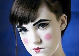 most por s for this image include doll makeup porcelain and porcelain doll