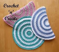 Crochet Hot Pad Pattern