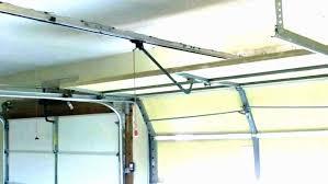 garage door opener clearance 2018 roll up zero clearance of post