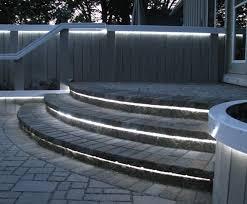 lighting steps. amazing 11 patio step lights creativity lighting steps
