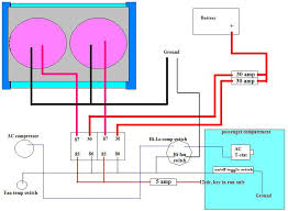 dual electric fan wiring kit dual image wiring diagram