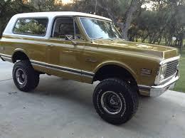1971 Chevy Blazer CST Chevy K5 4X4 - YouTube