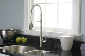 Small Picture high end kitchen taps three hole kitchen faucet with sprayer