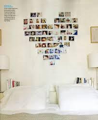 polaroid heart: creative idea of exposing pictures