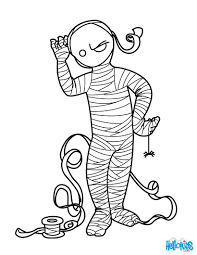 Small Picture Enchanted mummy coloring pages Hellokidscom