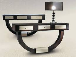 the futuristic and artistic contemporary console tables  house