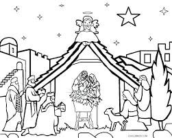 Printable Nativity Coloring Pages Nativity Coloring Pages Nativity