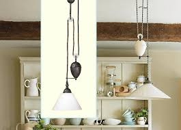 pulley lighting. 7 Easy Ways To Facilitate Pulley Pendant Lights Kitchen Throughout Style Lighting Plan E