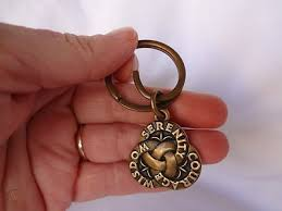 designer james avery bronze key ring