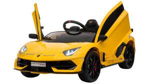Xe ô tô điện Lamborghini Aventador SVJ HL-328 có Bản quyền của hãng
