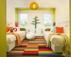 bedroom designs for kids children.  Bedroom Modern Kids Bedroom And Carpet Option For Ideas With  Lights Two Half Bed Decor Inside Bedroom Designs For Kids Children 0