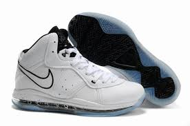 lebron 8 shoes. nike air max lebron viii white with black shoes,basketball shoes 8,competitive price 8