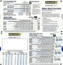 Motor Data Slide Chart 10 57 Picclick