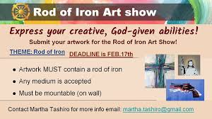 Rod <b>of Iron Art Show</b> coming up soon - Newfoundland Sanctuary ...