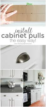 Kitchen Cabinets Pulls 17 Best Ideas About Kitchen Cabinet Pulls On Pinterest Handles