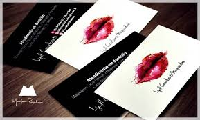 makeup artist business card and the card of fashion modern faszinierend ideas 18