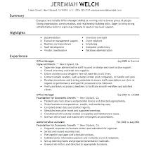 Administrative Assistant Skills Awesome Resume Office Administrator Successful Resume Format Medical