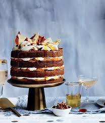 The Gourmet Traveller 50th Birthday Cover Cake Ginger Whiskey Cake