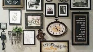 interior wall frame decor new frames or on creative picture collage with 5 of