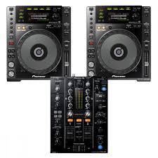 pioneer 850. pioneer dj 2 x cdj850k + djm450 cd player / mixer bundle 850