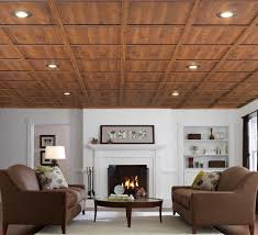 drop ceiling ideas Basement Traditional with basement drop ceiling wood.  Image by: WoodTrac