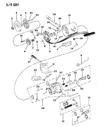 Jeep anche steering column diagram