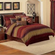 Want To Decorate Log Home With The Colors In This Bedroom Comforter: Tans,  Brown