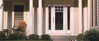 fiberglass exterior door full glass. therma tru exterior doors fiberglass full glass entry door and sidelights with