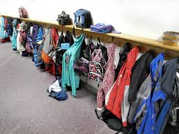 School Coat Racks Coat Rack In School Stock Photo © Eric100 100 11