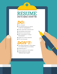 Resume Do's and Don'ts