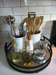 simple small kitchen designs lovely organizing the kitchen counter with a simple tray