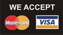 Visa and Mastercard image