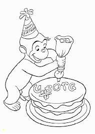 Curious George Printables Coloring Pages Zabelyesayancom