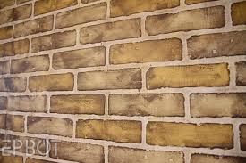painting brick wall enticing portray diy faux tutorial