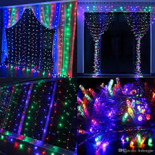 Camping Christmas Lights Led Holiday Light 3 3m 6 3m 8 3m 10 3m 300 600 800 1000 Leds Curtain String Lights Garden Lamps For New Year Christmas Wedding Party Decora Camping