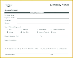 Holiday Request Form Custom Employee Leave Request Form Template In Excel Sick Annual