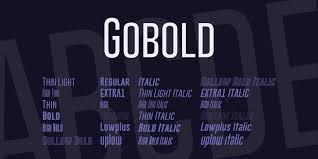 Google fonts now supports variable fonts. Gobold Font Family 1001 Fonts