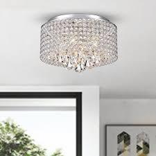 deluxe crystal flush mount chandelier also hall light fixtures flush mount